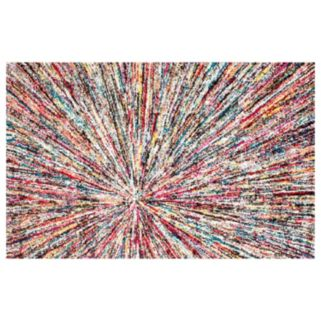 nuLOOM Carnival Samira Warp Abstract Rug