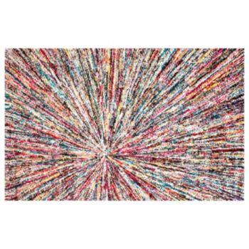 nuLOOM Carnival Samira Warp Abstract Rug