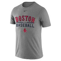 Men's Nike Boston Red Sox Away Practice Ringspun Tee