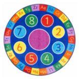 nuLOOM Giza Number Circles Rug