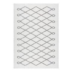 nuLOOM Airy Shag Stasia Diamond Geometric Rug