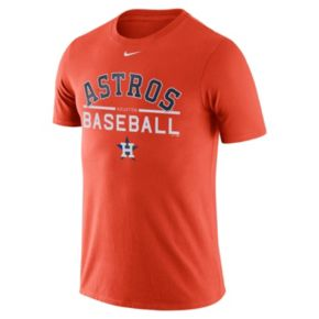Men's Nike Houston Astros Practice Ringspun Tee