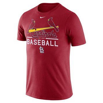 Men's Nike St. Louis Cardinals Practice Ringspun Tee