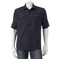 Big & Tall Rock & Republic Classic-Fit Roll-Tab Stretch Button-Down Shirt