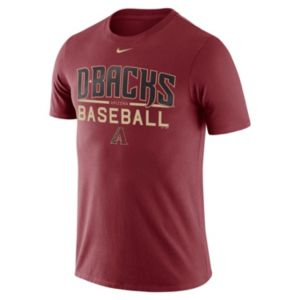 Men's Nike Arizona Diamondbacks Practice Ringspun Tee