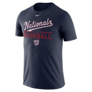 Men's Nike Washington Nationals Practice Ringspun Tee