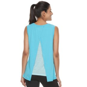 Women's Tek Gear® Layered Split Back Tank