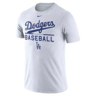 Men's Nike Los Angeles Dodgers Practice Ringspun Tee