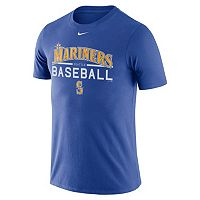 Men's Nike Seattle Mariners Practice Ringspun Tee