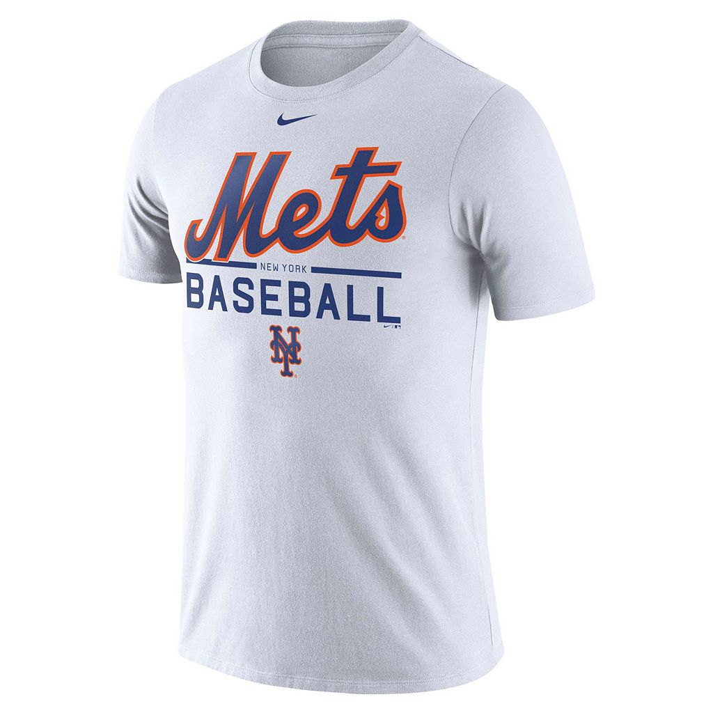 Men's Nike New York Mets Practice Ringspun Tee