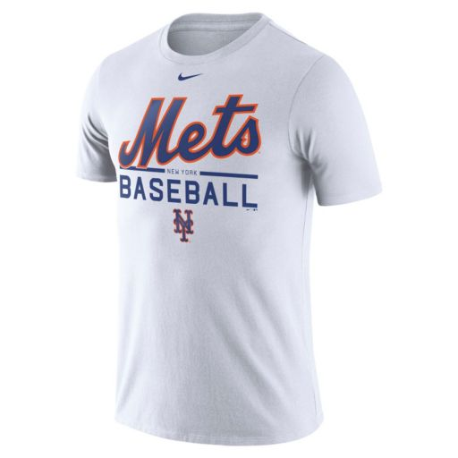 Men's Nike New York Mets Practice Ringspun Tee