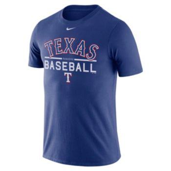 Men's Nike Texas Rangers Practice Ringspun Tee