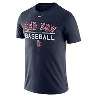 Men's Nike Boston Red Sox Practice Ringspun Tee