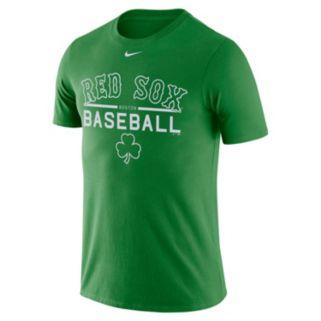 Men's Nike Boston Red Sox Practice Ringspun Tee