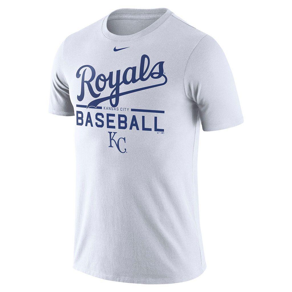 Men's Nike Kansas City Royals Practice Ringspun Tee