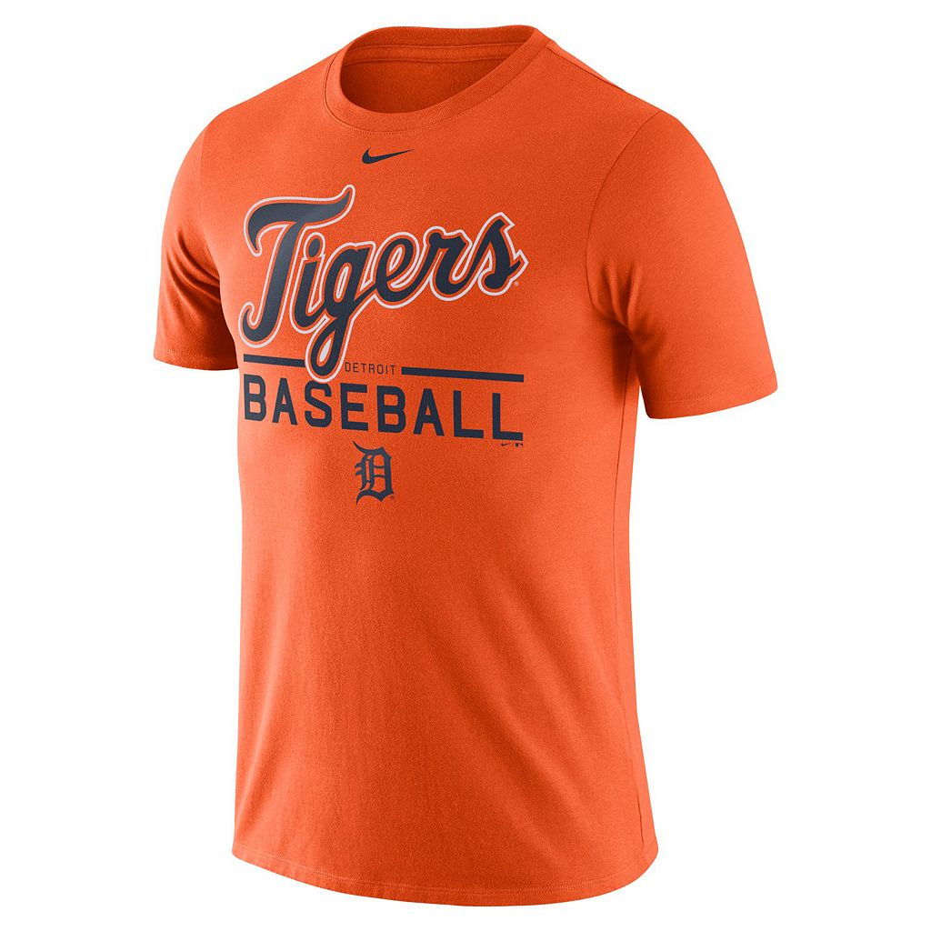 Men's Nike Detroit Tigers Practice Ringspun Tee
