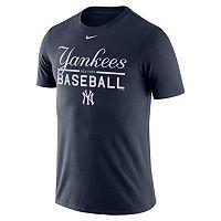 Men's Nike New York Yankees Practice Ringspun Tee