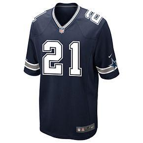 Men's Nike Dallas Cowboys Ezekiel Elliott Game NFL Replica Jersey