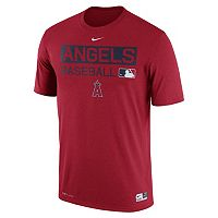 Men's Nike Los Angeles Angels of Anaheim AC Team Issue Legend Dri-FIT Lightweight Tee