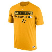 Men's Nike Oakland Athletics AC Team Issue Legend Dri-FIT Lightweight Tee