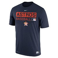 Men's Nike Houston Astros AC Team Issue Legend Dri-FIT Lightweight Tee