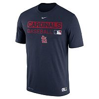 Men's Nike St. Louis Cardinals AC Team Issue Legend Dri-FIT Lightweight Tee