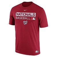 Men's Nike Washington Nationals AC Team Issue Legend Dri-FIT Lightweight Tee