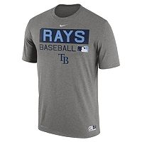 Men's Nike Tampa Bay Rays AC Team Issue Legend Dri-FIT Lightweight Tee