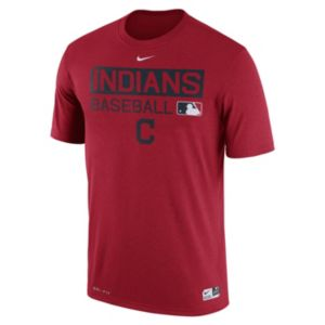 Men's Nike Cleveland Indians AC Team Issue Legend Dri-FIT Lightweight Tee