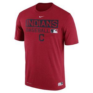 Men's Nike Cleveland Indians AC Team Issue Legend Dri-FIT Lightweight Tee