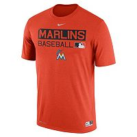 Men's Nike Miami Marlins AC Team Issue Legend Dri-FIT Lightweight Tee