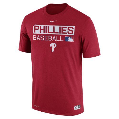 Men's Nike Philadelphia Phillies AC Team Issue Legend Dri-FIT Lightweight Tee