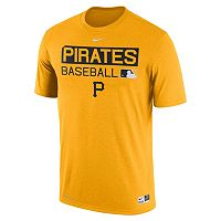 Men's Nike Pittsburgh Pirates AC Team Issue Legend Dri-FIT Lightweight Tee