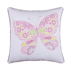 Kama Butterfly Throw Pillow