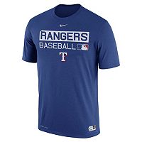 Men's Nike Texas Rangers AC Team Issue Legend Dri-FIT Lightweight Tee