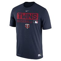 Men's Nike Minnesota Twins AC Team Issue Legend Dri-FIT Lightweight Tee