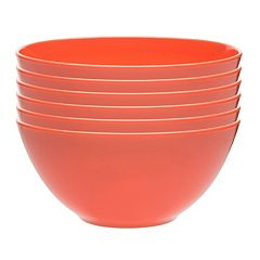 Zak Designs Ella 6 pc Soup Bowl Set