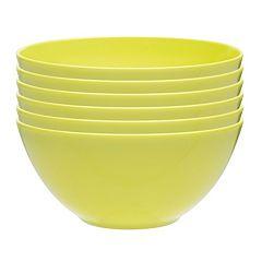 Zak Designs Ella 6 pc Soup Bowl Set