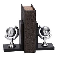 Globe Bookends 2-piece Set