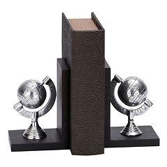 Globe Bookends 2-piece Set