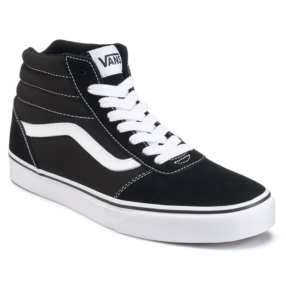 05c49279227 Vans Ward Hi Men's Suede Skate Shoes