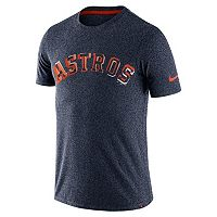 Men's Nike Houston Astros Marled Wordmark Tee