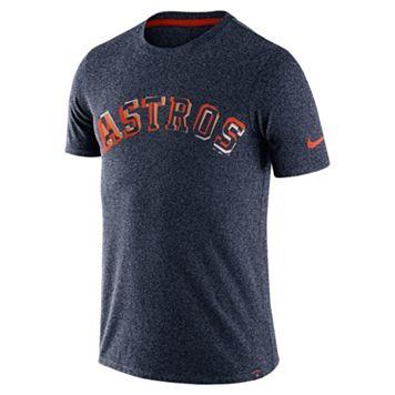 Men's Nike Houston Astros Marled Wordmark Tee