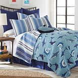 Levtex Home Sammy Shark Quilt Set