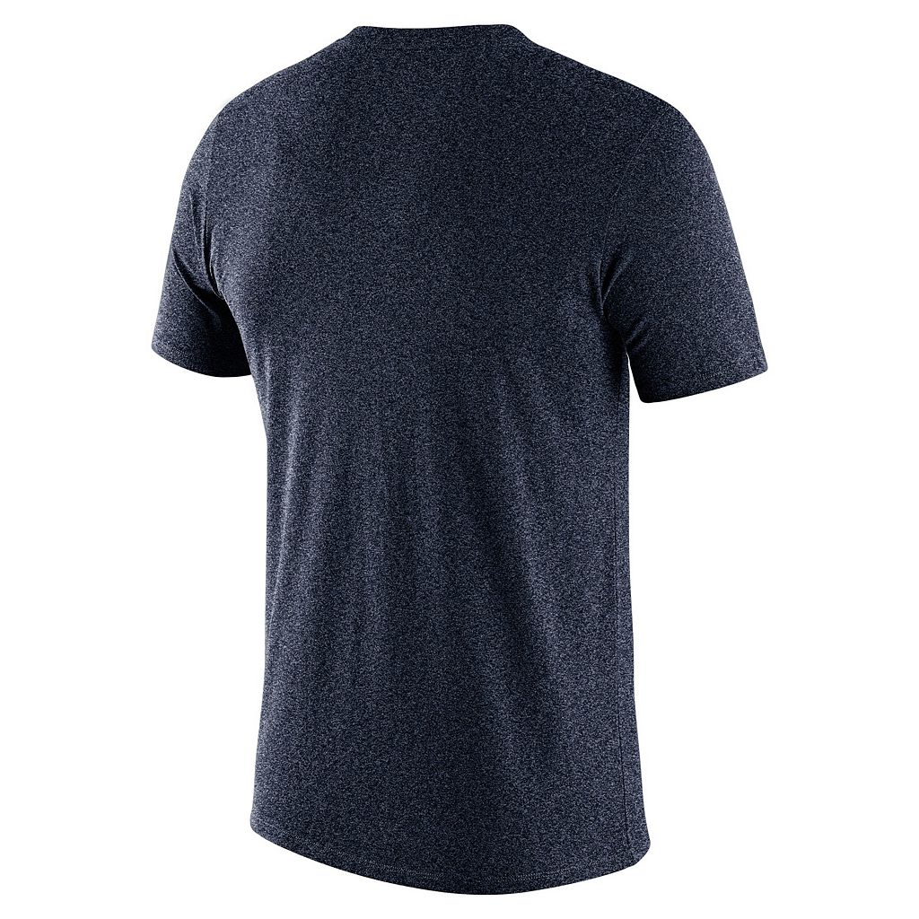 Men's Nike Milwaukee Brewers Marled Wordmark Tee