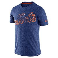 Men's Nike New York Mets Marled Wordmark Tee