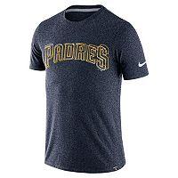 Men's Nike San Diego Padres Marled Wordmark Tee
