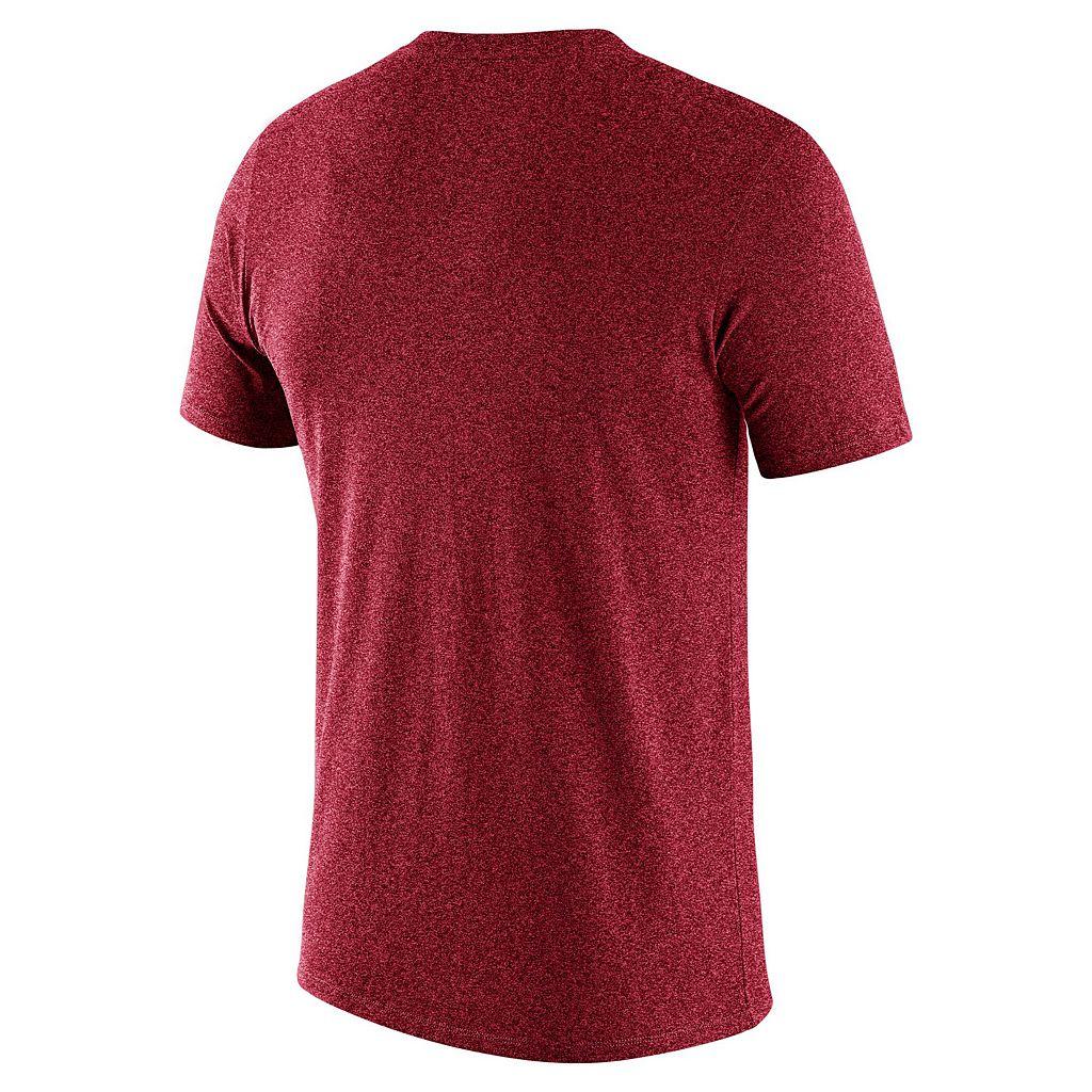 Men's Nike Cincinnati Reds Marled Wordmark Tee