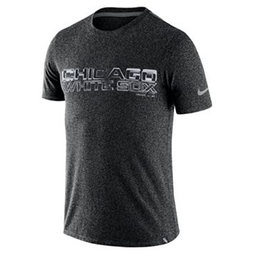 Men's Nike Chicago White Sox Marled Wordmark Tee