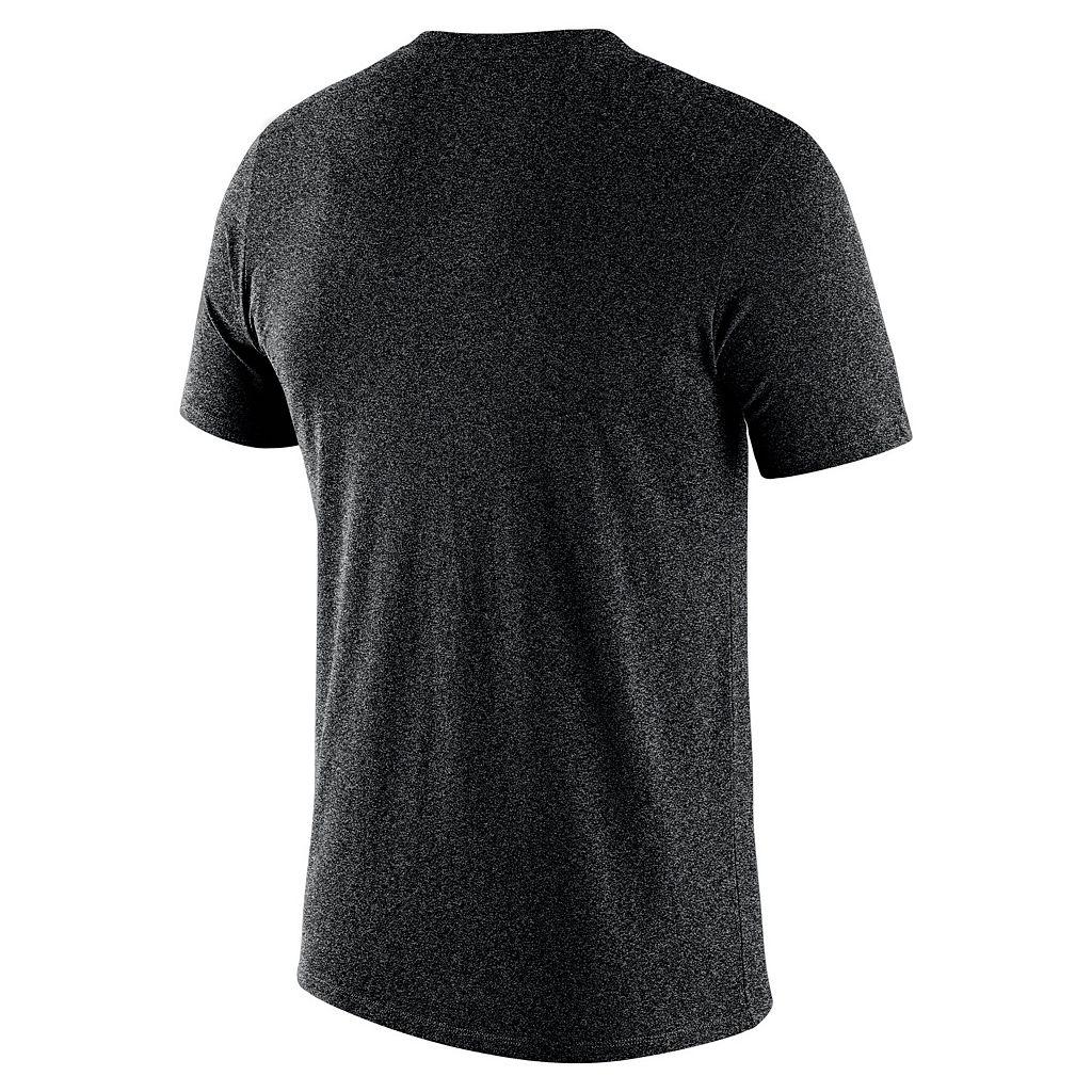 Men's Nike Baltimore Orioles Marled Wordmark Tee